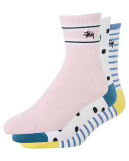 MULTI WOMENS CLOTHING STUSSY SOCKS + UNDERWEAR - ST782016MUL
