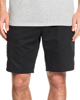 BLACK MENS CLOTHING QUIKSILVER SHORTS - EQMWS03112-KVJ0