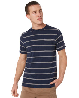INDIGO MENS CLOTHING RIP CURL TEES - CTEKA90088