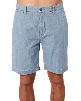 NAVY STRIPE MENS CLOTHING BARNEY COOLS SHORTS - 619-CC3NVYST