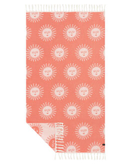 RED MENS ACCESSORIES SLOWTIDE TOWELS - ST313RED