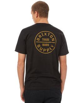 BLACK COPPER MENS CLOTHING BRIXTON TEES - 06281BKCOP
