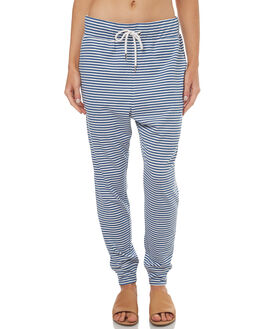 NAVY STRIPE WOMENS CLOTHING SWELL PANTS - S8173191NSTRI