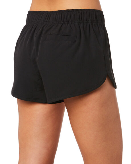 BLACK WOMENS CLOTHING SWELL SHORTS - S8202231BLK