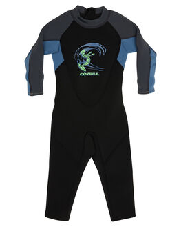 BLACK BLUE GRAPH SURF WETSUITS O'NEILL STEAMERS - 4868BGSE5