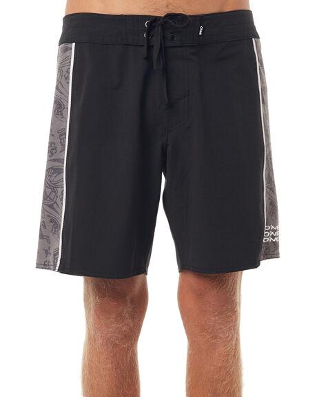 BLACK AOP MENS CLOTHING O'NEILL BOARDSHORTS - 4411810BLK