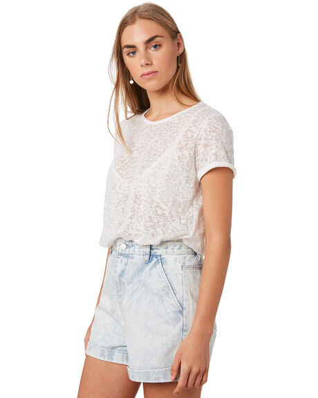NATURAL OUTLET WOMENS SWELL TEES - S8202005NAT