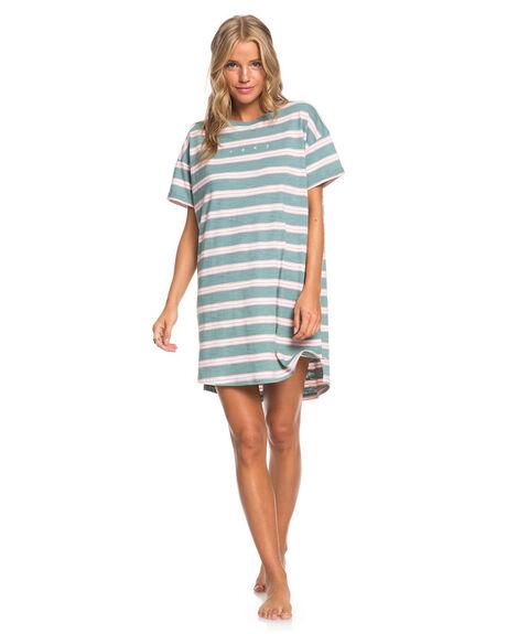 OIL BLUE WOMENS CLOTHING ROXY DRESSES - ERJKD03336-BKY3
