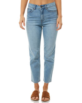 ICED BLUE WOMENS CLOTHING THE HIDDEN WAY JEANS - H8182193IBLUE