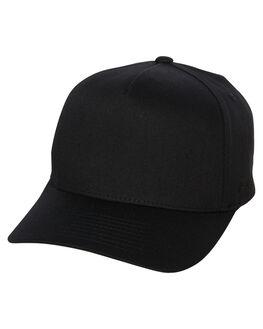 BLACK MENS ACCESSORIES FLEX FIT HEADWEAR - COS-80782BLK