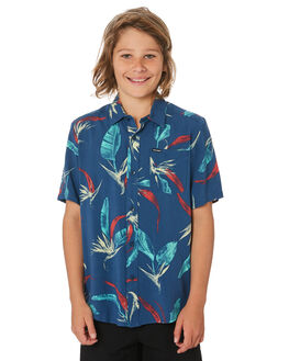 SMOKEY BLUE KIDS BOYS VOLCOM TOPS - C0441900SMB