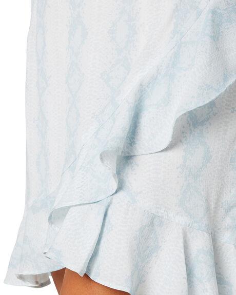 BLUE SNAKE WOMENS CLOTHING TOBY HEART GINGER SKIRTS - T1457SBLSNK