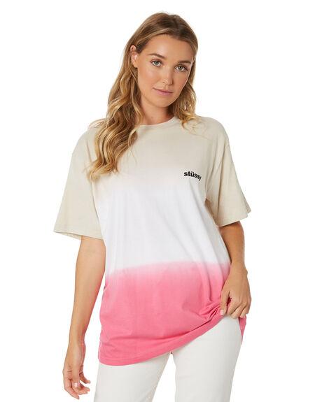SAND WOMENS CLOTHING STUSSY TEES - ST105104SAND