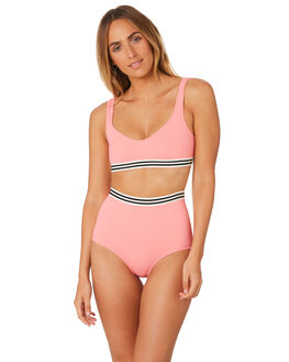 FLAMINGO WOMENS SWIMWEAR SOLID AND STRIPED BIKINI TOPS - WS-2008-1603FLM