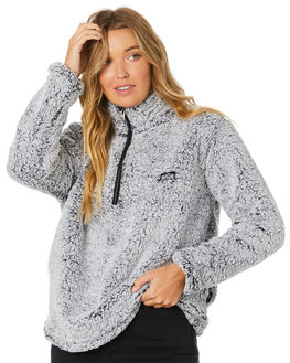 LIGHT GREY WOMENS CLOTHING RIP CURL JUMPERS - GFEJO11201