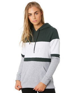 BOTTLE GREEN WOMENS CLOTHING SILENT THEORY JUMPERS - 6034018BGRN