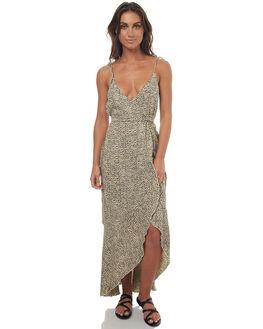 LEOPARD PRINT WOMENS CLOTHING RUE STIIC DRESSES - SO1733PLEOP