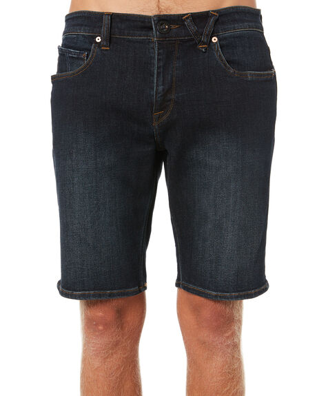 VINTAGE BLUE MENS CLOTHING VOLCOM SHORTS - A2031802VBL