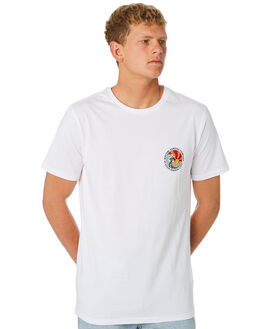 WHITE MENS CLOTHING RIP CURL TEES - CTEWJ2U1000