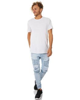 BROKEN BLEACH MENS CLOTHING NENA AND PASADENA JEANS - NPMHCP003BBLE