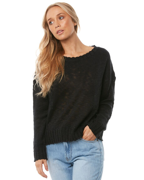 BLACK OUT WOMENS CLOTHING O'NEILL KNITS + CARDIGANS - 4521409BLK