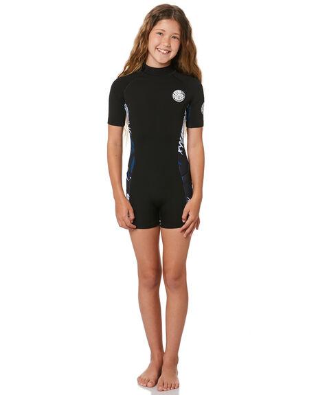 BLACK NAVY BOARDSPORTS SURF RIP CURL GIRLS - WSP8BJ3327