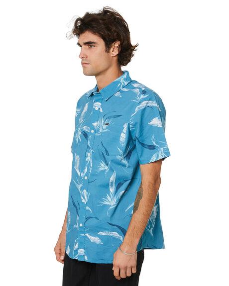 STORMY BLUE MENS CLOTHING VOLCOM SHIRTS - A04022100STB