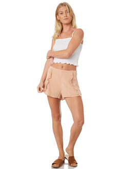 FAWN WOMENS CLOTHING ALL ABOUT EVE SHORTS - 6423055FAWN