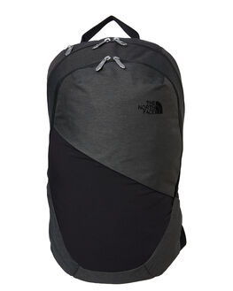 ASPHALT GREY BLACK WOMENS ACCESSORIES THE NORTH FACE BAGS + BACKPACKS - NF0A3KY9YLMGRBK