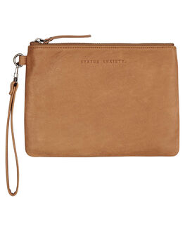 TAN WOMENS ACCESSORIES STATUS ANXIETY PURSES + WALLETS - SA1332TAN
