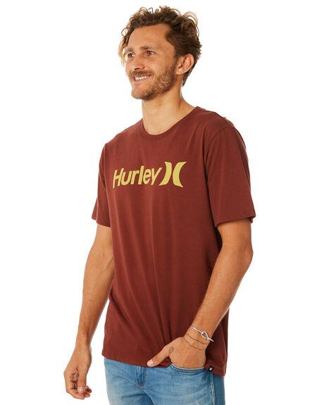 PUEBLO BROWN MENS CLOTHING HURLEY TEES - AH7935203