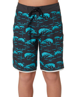 ANTHRACITE KIDS BOYS HURLEY BOARDSHORTS - BQ2534060
