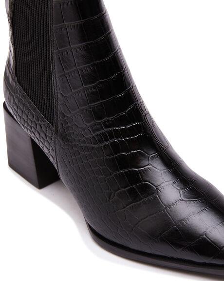 BLACK CROC WOMENS FOOTWEAR SOL SANA BOOTS - SS212W519BLKC
