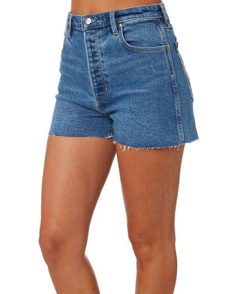 MYSTIC WOMENS CLOTHING WRANGLER SHORTS - W-951906-PC2
