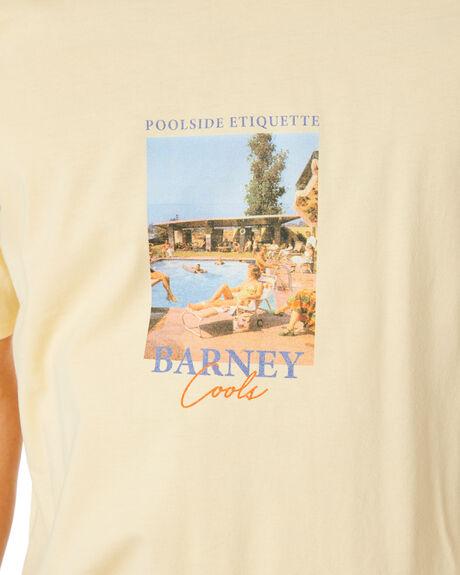 LEMON MENS CLOTHING BARNEY COOLS TEES - 114-Q220LEM