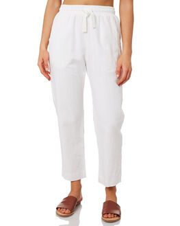WHITE WOMENS CLOTHING NUDE LUCY PANTS - NU23276WHT