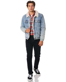 BOGAN BLUE MENS CLOTHING ROLLAS JACKETS - 155484320