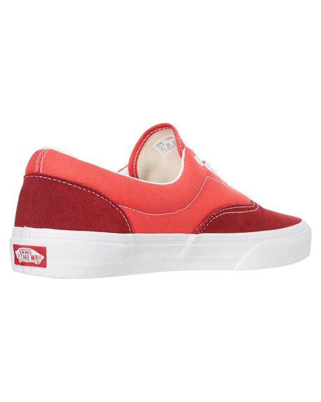 RED OUTLET WOMENS VANS SNEAKERS - SSVNA4BV4VXZW