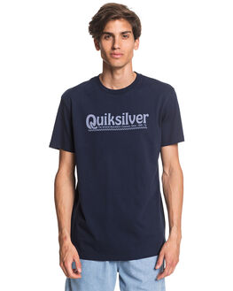 NAVY BLAZER MENS CLOTHING QUIKSILVER TEES - EQYZT05754-BYJ0