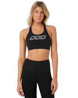 BLACK WHITE WOMENS CLOTHING LORNA JANE ACTIVEWEAR - 041939BLKWH