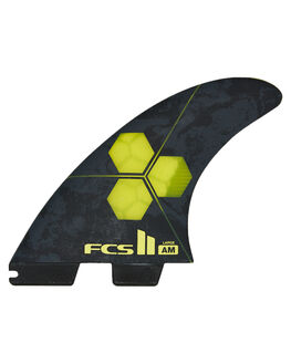 YELLOW BOARDSPORTS SURF FCS FINS - FAML-PC04-LG-FS-RYEL
