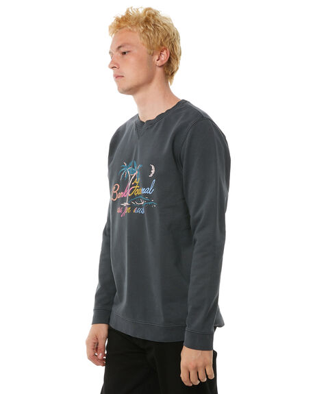 DIRTY BLACK OUTLET MENS BANKS JUMPERS - WFL0113DBL