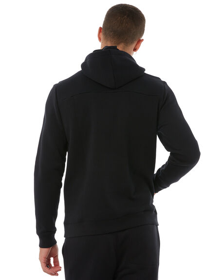 BLACK MENS CLOTHING HURLEY JUMPERS - AQ0773010