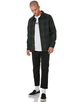 GREEN CHECK MENS CLOTHING MISFIT JACKETS - MT096501GRCHK