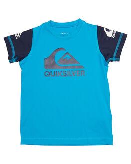 BLUE DANUBE SURF RASHVESTS QUIKSILVER TODDLER BOYS - UQKWR03038XBKB