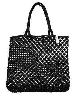 BLACK WOMENS ACCESSORIES THE BEACH PEOPLE BAGS - BG-M09-03-OBLK