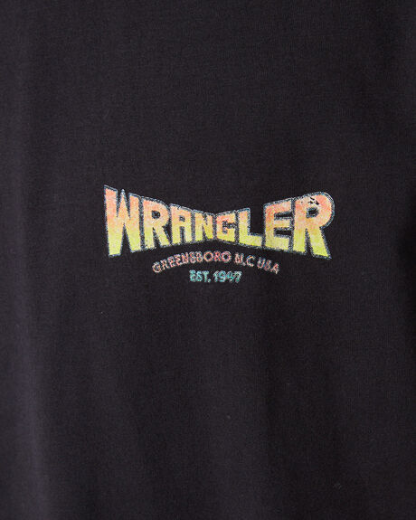 WORN BLACK MENS CLOTHING WRANGLER TEES - 901660082