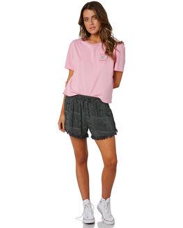BLACK WOMENS CLOTHING BILLABONG SHORTS - 6582277BLK