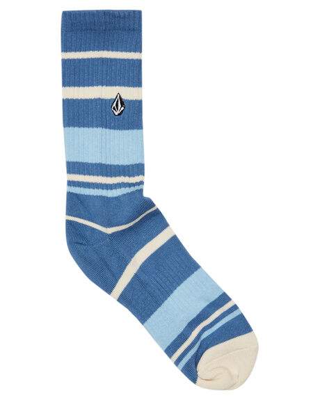 HORIZON BLUE MENS CLOTHING VOLCOM SOCKS + UNDERWEAR - D6302003HZN