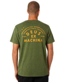 FOUR LEAF CLOVER MENS CLOTHING DEUS EX MACHINA TEES - DMS81094BFRLF